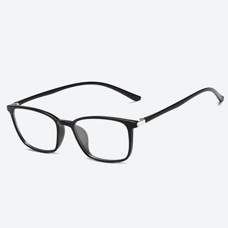 5bb5ad103 Compre Óculos De Armação Lentes Claras Armações De Óculos Para Homens Óculos  De Olho Mulheres Espetáculo Óptico Moda Senhoras Armações De Óculos De  Armação ...
