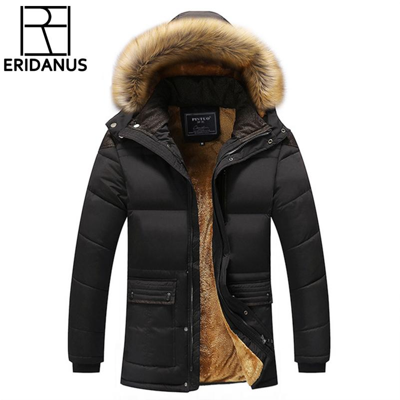 2017 Winter Men Down & Parkas Cotton-padded Jackets Men' S Casual Down Jackets Thicken Coats Overcoat Warm Clothing Big 5xl X579 SH190901