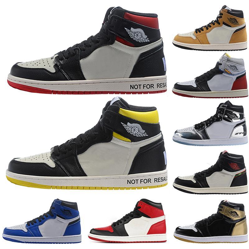 094f52e829cff1 Hot High Top 1 OG Bred Toe Prohibido Juego Zapatillas De Baloncesto Royal  Men 1s Top 3 Shattered Backboard Shadow Sneakers De Alta Calidad Con Caja  Por ...
