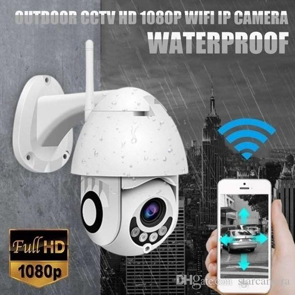 2019 Upgrade IP Camera Onvif WiFi 2MP HD 1080P Wireless Speed Dome CCTV IR Camera Outdoor Security Surveillance NetCam IP Camara