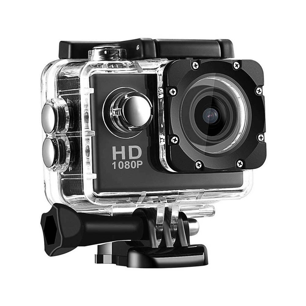 Camera Sport DV Video Camera 2 inch Full HD 1080p 12MP 70 degree Wide-angle Camcorder 30m Waterproof Camcorder Car