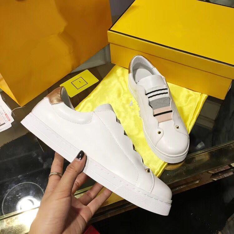 b7e12210c1ba9 2019 Designer Luxury Brand Casual Shoes New Womens Fashion Luxury ...