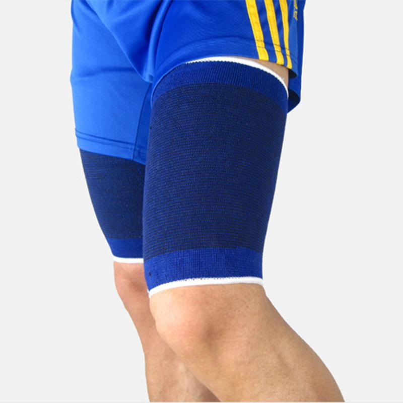 1 Paire Sports De Plein Air Football Football Basketball Volleyball Sécurité Jambe Cuisse Protection Musculaire Protège-tibias Pads Soutien Brace