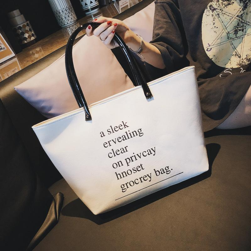 ed32bffde005 Big Bag Canvas Tote Bag New Chic Casual Large Capacity Canvas ...