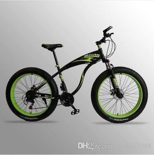 f691217f7a5 Flying Leopard Mountain Bike Bicycle 21speed/24speed Aluminum Alloy Frame  26x4.0 Fat Bike Bicycle Snow Bike Electric Bicycle Bicycles From  Shefu25398, ...
