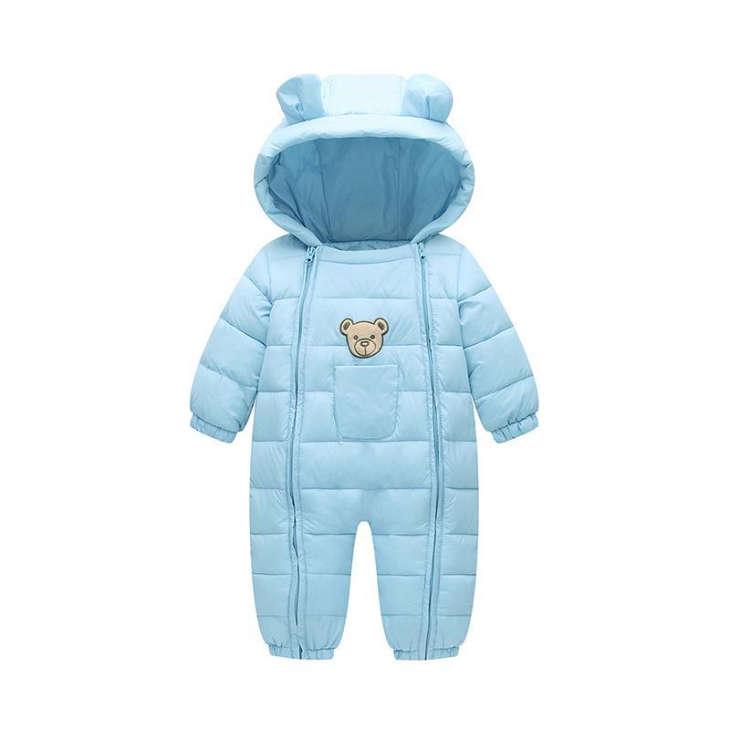 f40e69247b66 2019 Good Quality 2019 Winter Warm Baby Girl Boy Snowsuit Down ...