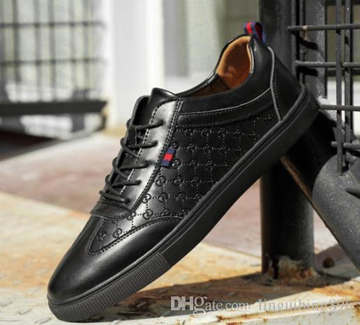 0e2f10e2e57e9 Acheter GUCCI Hommes Chaussures En Cuir Véritable De Luxe ...