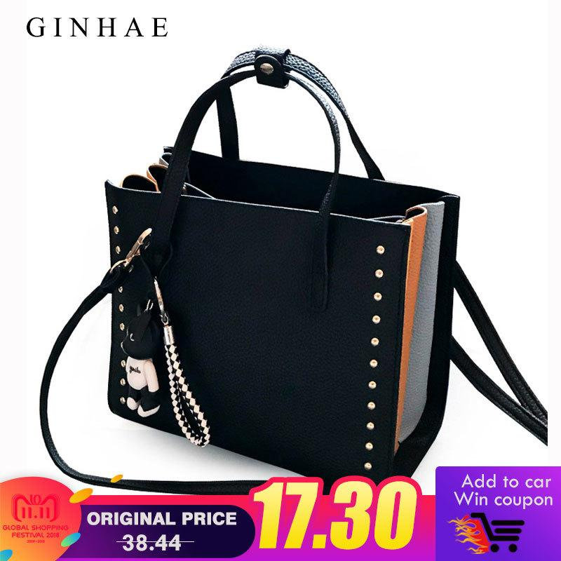 2019 Fashion Colorful Ruched Women Tote Bag Designer High Quality Pu  Leather Handbags 2018 New Fashion Ladies Rivet Shoulder Crossbody Bags Hobo  Handbags ... d6869c074d370