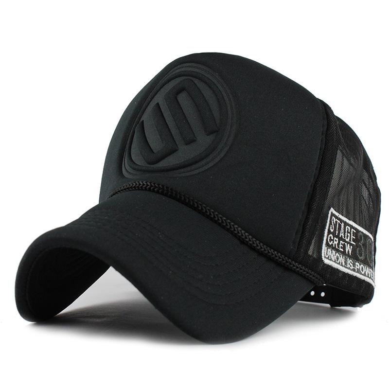 7266d23b087 Summer Male And Female Trucker Hats Fitted Casual Hip-hop Street ...