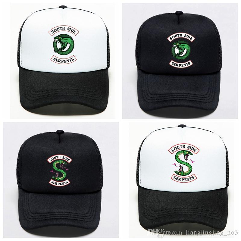 Riverdale South Side Serpents Unisex Baseball Kappe Sport Mütze Sommer