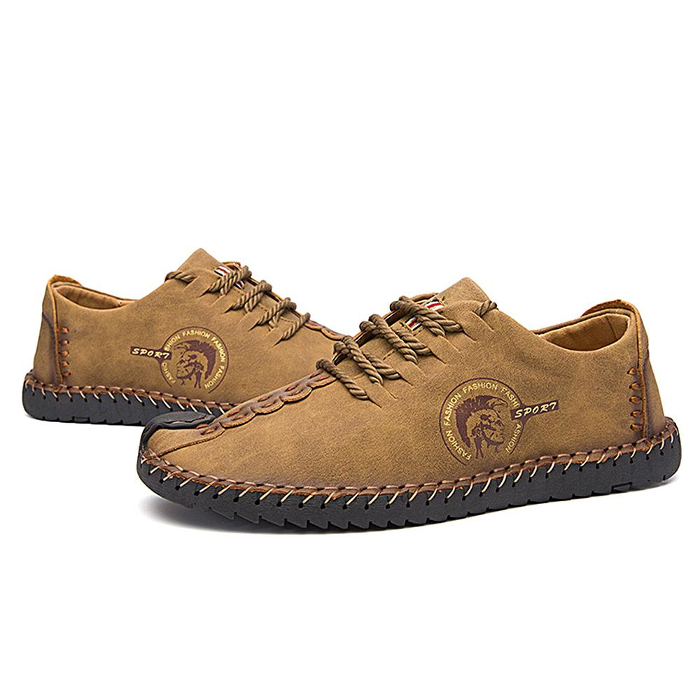 2e54b297273 Acheter Marque Hommes Mocassins Mocassins Slip Sur Chaussures Hommes Casual  Chaussure En Cuir Artificiel Conduite Bateau Flats Chaussures Sneaker  Hommes ...