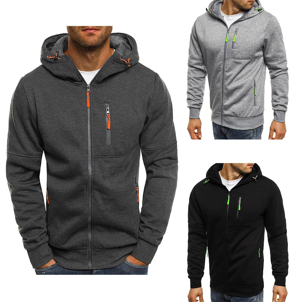 565196a616d 2019 Sweatshirts 2019 New Men S Sports Fitness Leisure Jacquard ...
