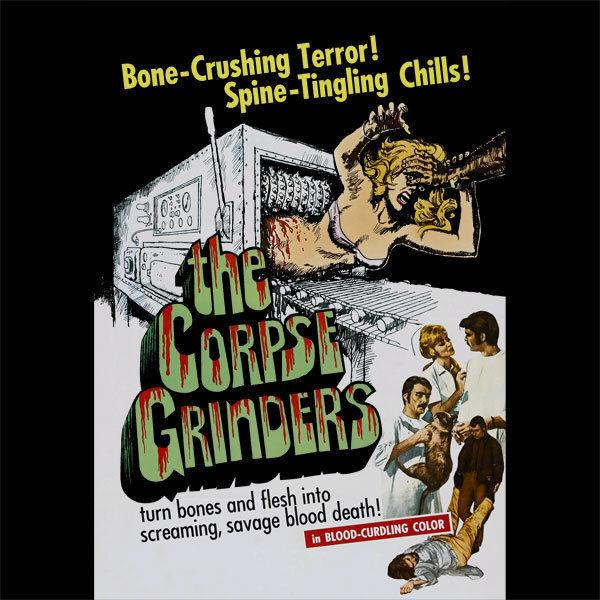 The Corpse Grinders - Custom Horror Movie T-Shirt - [A26] - Ted V. Mikels top free shipping t-shirt