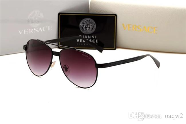 Home> Fashion Accessories> Sunglasses> Product detail [With Box] Fashion Sunglasses Luxury Designer Sunglasses Vintage Mens Brand Designer