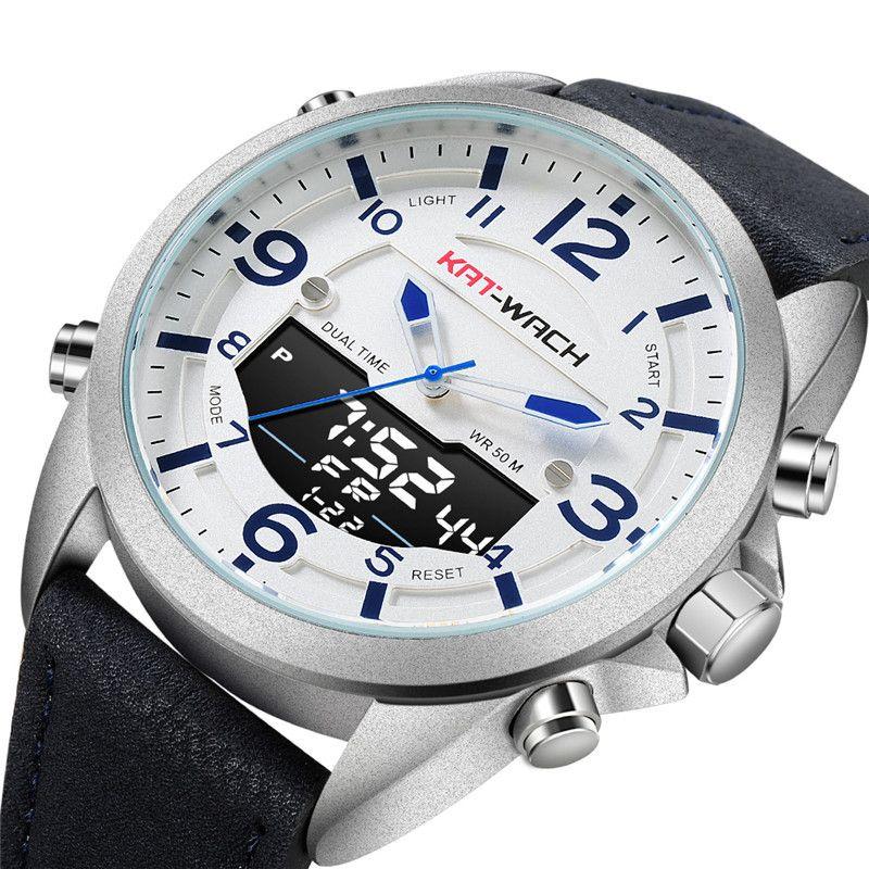 72261d48e KAT-WACH New Men's Multifunctional Electronic Watch Outdoor Sports ...