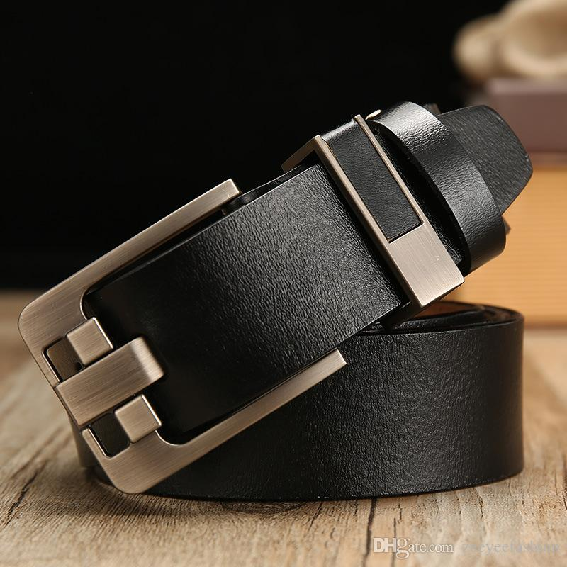dc8b9f0ea8b Men S Genuine Leather Dress Belts Made With Premium Quality Classic And Fashion  Design For Work Business And Casual Dance Belt Belts For Women From ...