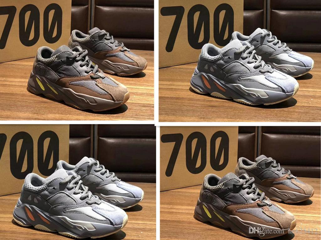 5dc940864 Infant 700 Wave Runner Mauve Kids   Child Running Shoes Big Boy  Girl  Toddler Youth Trainers Kanye West Children Sneakers Girl Sports Shoes White  Kids ...