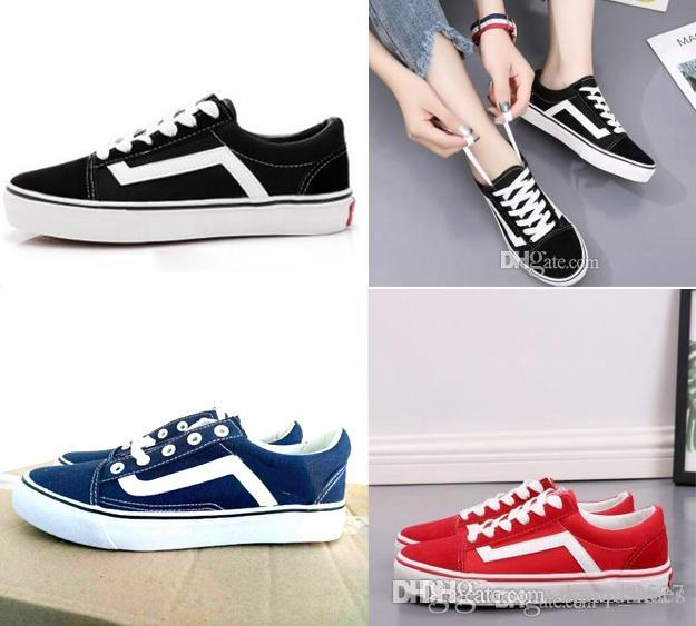Men Women Canvas Sneakers Shoes Old Skool Fear Of God Hi Black White YACHT  CLUB Red Blue Fashion Skate Casual Shoes Wedges Shoes Black Shoes From  Ogoodshoes ... 00bce8d16d08