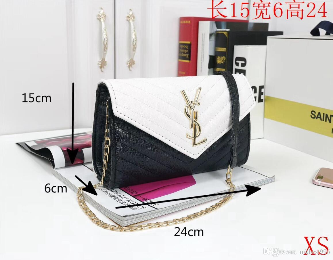Europe and America brand women's handbag Fashion women messenger bag rivet single shoulder bag High quality female bag handbags wallets B09