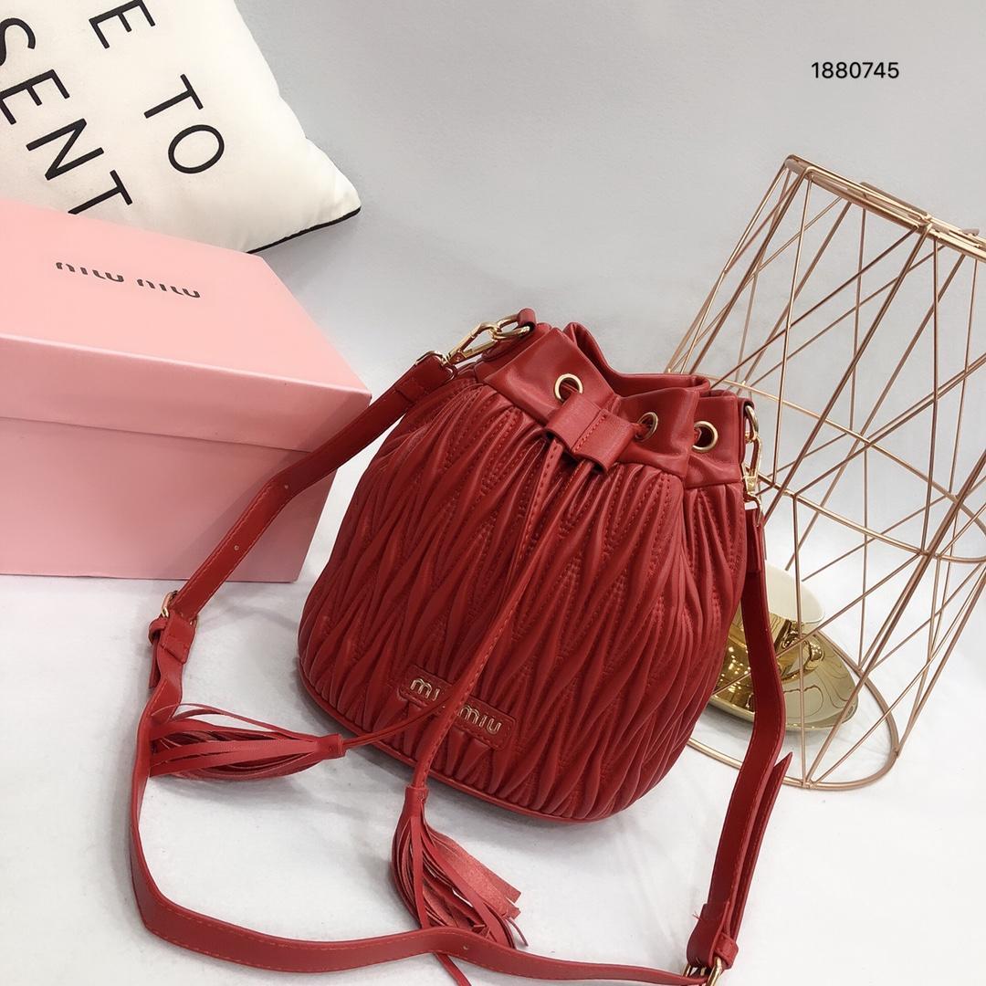 b481846fb7a5 Shoulder Bags Leather Bucket Bag Women Famous Brands Designer ...