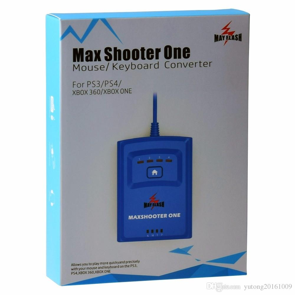 MayFlash Max Shooter ONE Mouse Keyboard Converter for PS3 for PS4 for XBox  360 One S