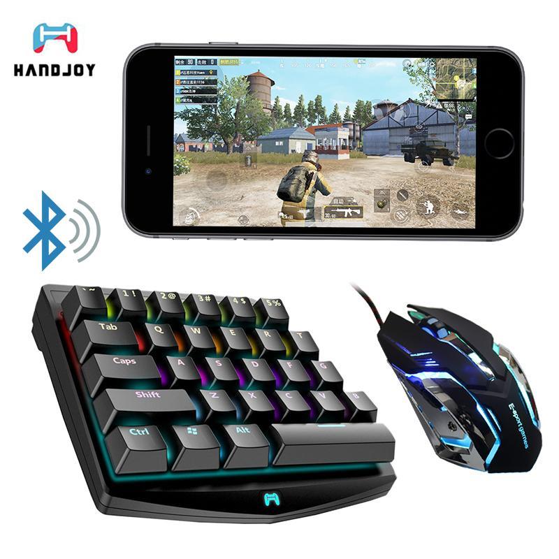 Handjoy K1 Bluetooth Pubg Mobile L1 R1 Rgb Mechanical Keyboard
