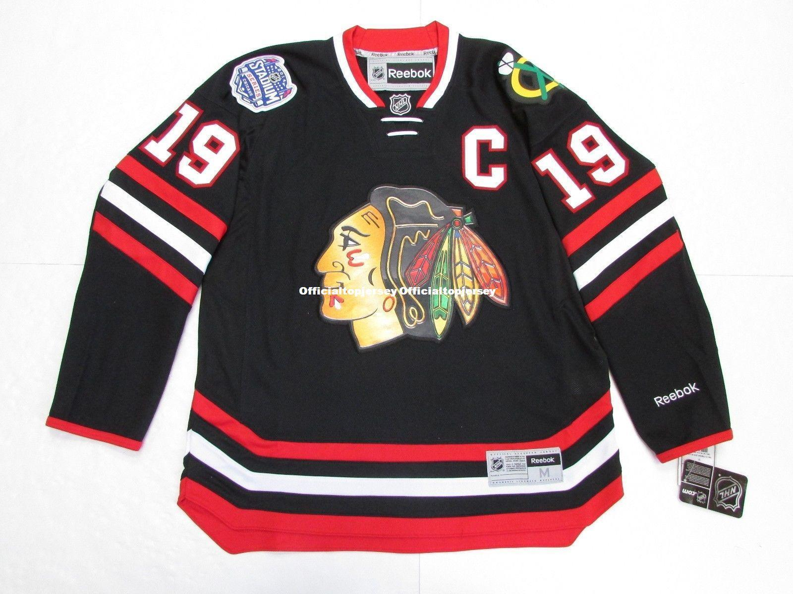 1f04af624bb 2018 Cheap Custom JONATHAN TOEWS CHICAGO BLACKHAWKS 2014 STADIUM SERIES  JERSEY Stitch Add Any Number Any Name Mens Hockey Jersey XS 6XL From ...