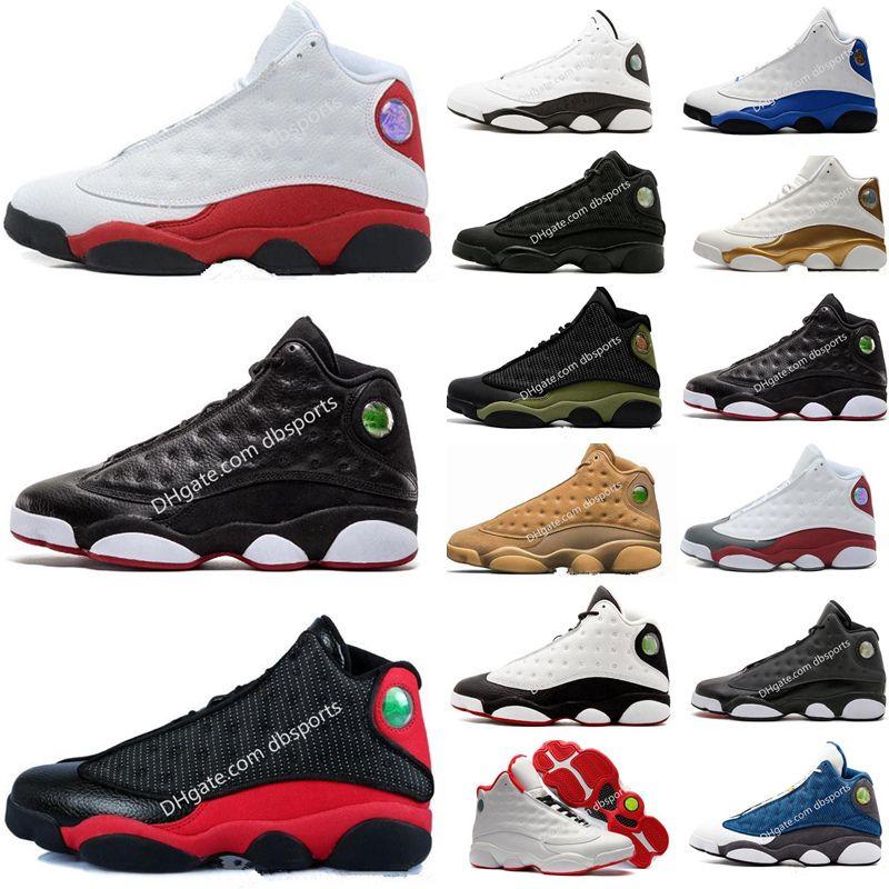 separation shoes 86edf dbeb6 Nike Air Jordan Zapatos De Baloncesto 13 13s Zapatillas De Deporte  Zapatillas De Correr Chicago 3M GS Hyper Royal Bordeaux DMP Wheat Olive  Ivory Hombres ...