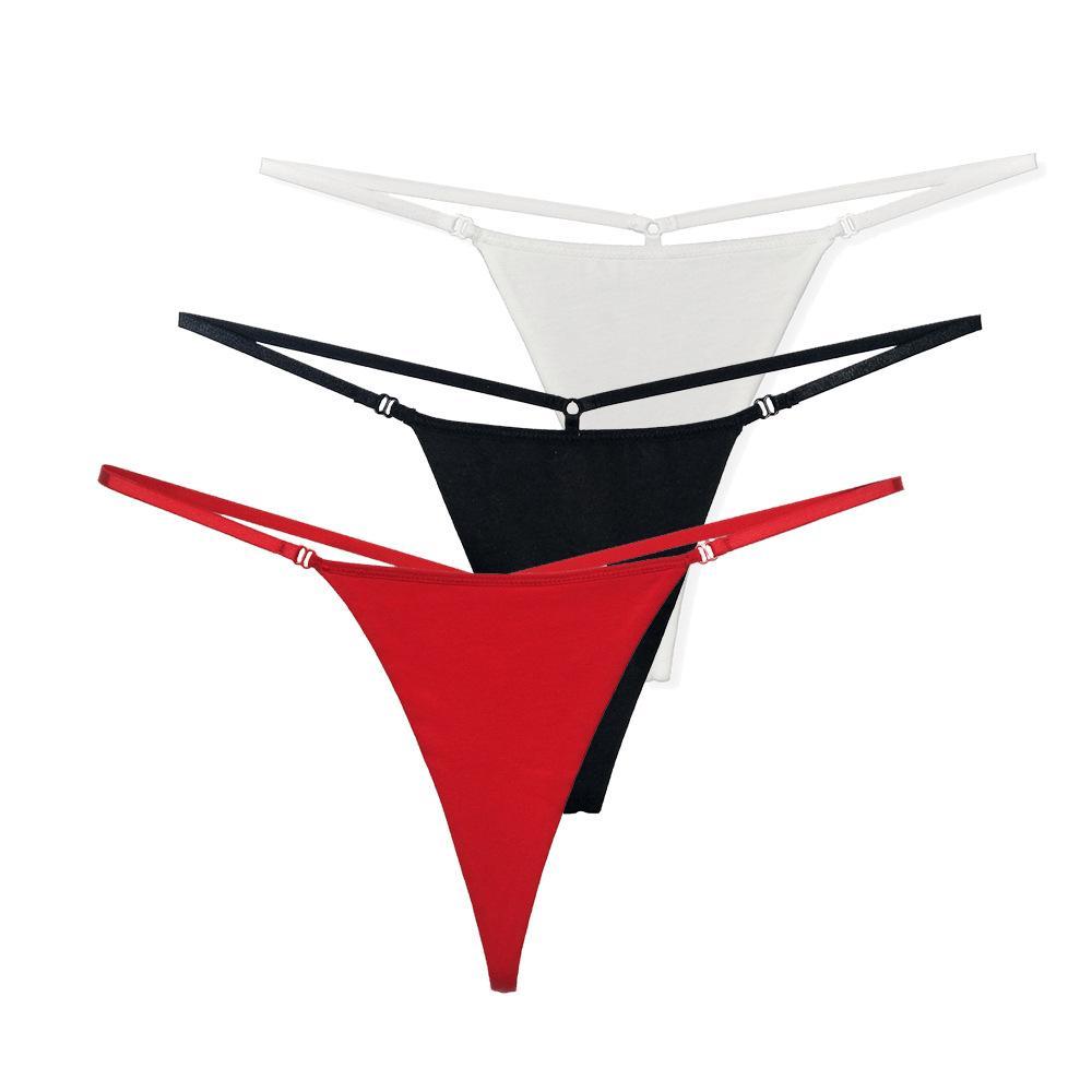 3e99397b7 Compre 6 Pçs   Lote Mulheres Sexy Algodão Tangas Mini Micro Bikini G Cordas  Tanga Senhoras Respirável T De Volta Calcinha Cueca Calça Lingerie Plus  Size De ...