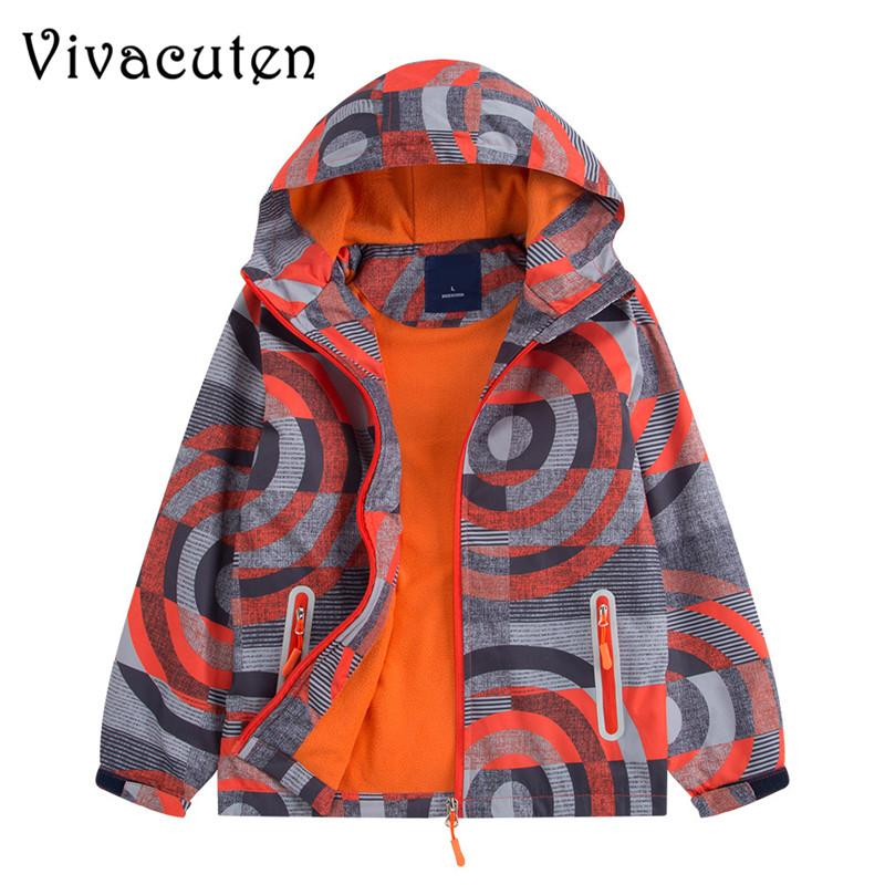22cab4ce8 New Autumn Kids Boy Outerwear Sport Waterproof Windproof Hooded Jackets For Children  Boys Jackets Cool Coats Spring Winter Tops Boys Windbreaker Jacket Kids ...