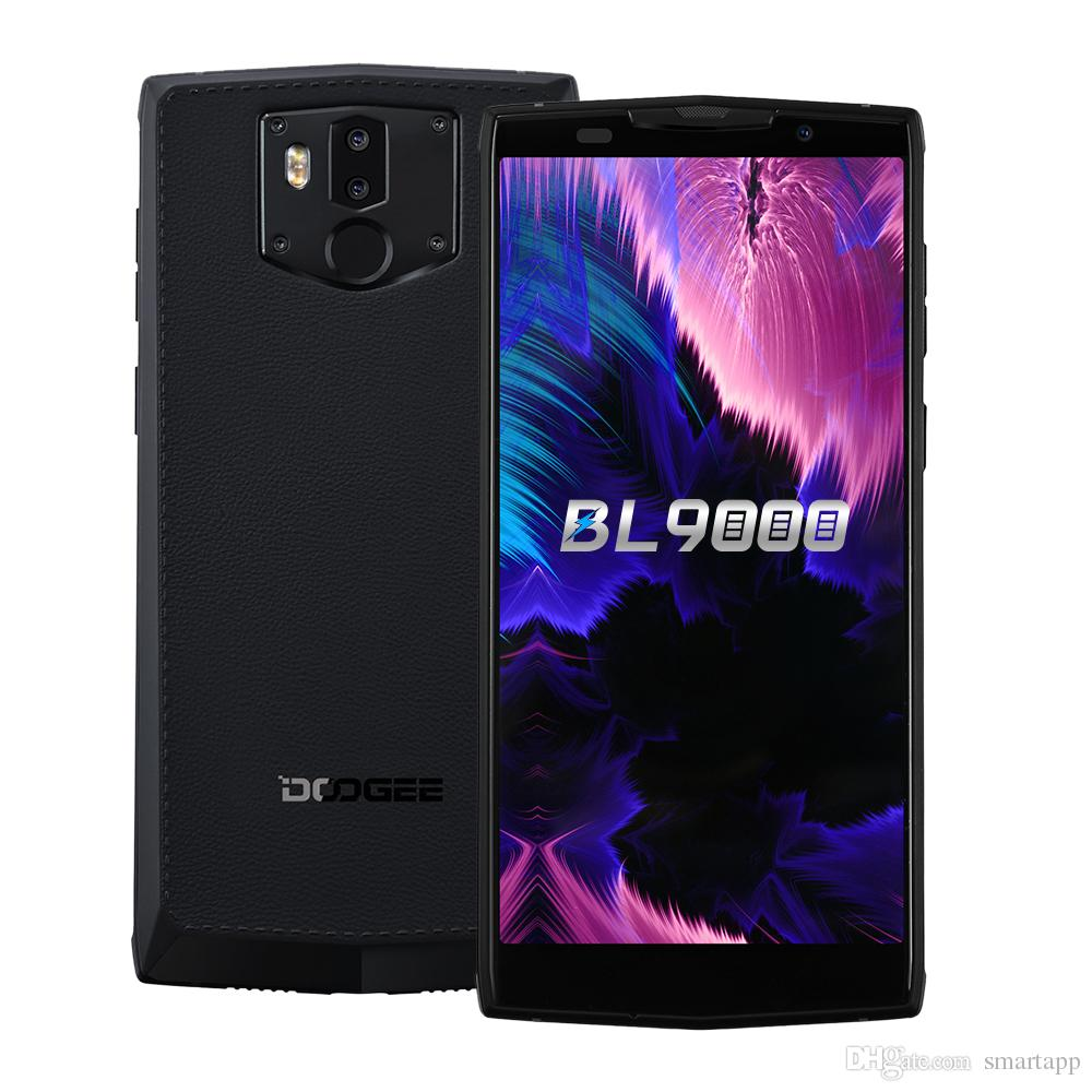 Image result for Fast shipping DOOGEE BL9000 6GB 64GB Smartphone Helio P23 5V5A Flash Charge 9000mAh Wireless Charge Android 8.1