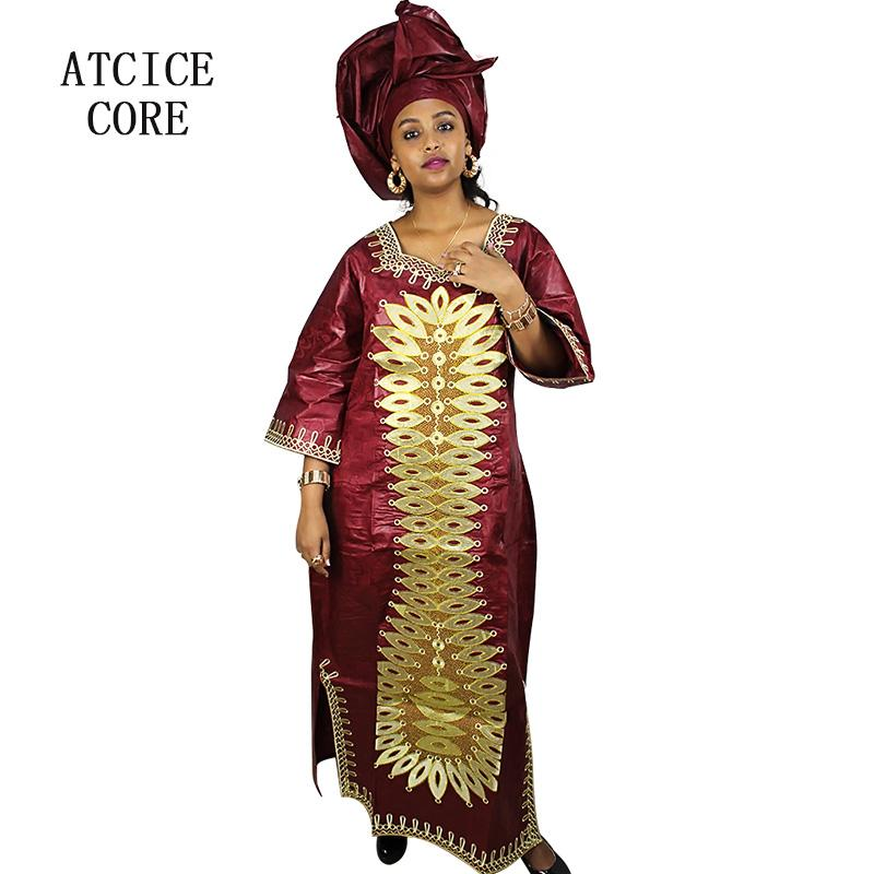 253ca851309b8 african dresses for women fashion design free shipping 100% COTTON african  basin riche embroidered design long dress