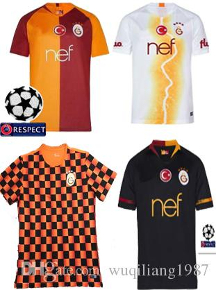 2019 Galatasaray Socce Jerseys 2018 2019 2020 Home Away 3rd Third CIGERCI  BELHANDA FERNANDO FEGHOULI GOMIS SINAN 18 19 20 Football Shirt From  Wuqiliang1987 82bdc52ec