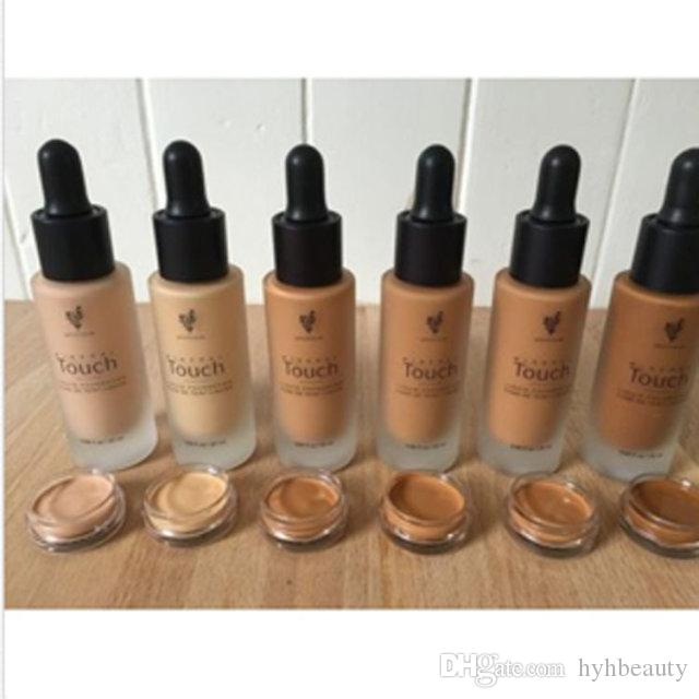 Top quality with best price ! Younique Touch Liquid Foundation Concealer Cream Moodstruck Opulence BB Cream 10 colors 20ml free shipping