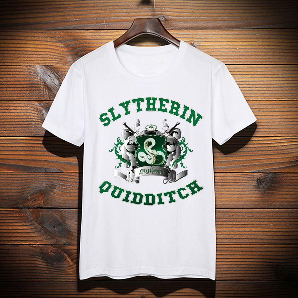 uomo Maglietta ispirata Maglietta Maglietta Acquista per 2 di di camicia verde verde A24 Logo Serpeverde Quidditch Ybgyv67f