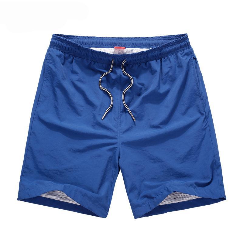 Compre Pantalones Cortos Para Hombre 2018 Junta De Playa De Secado Rápido  Hombres Cortos Bermudas Pantalones Cortos Casuales De Verano Hombres  Poliéster ... 845391fe30c8
