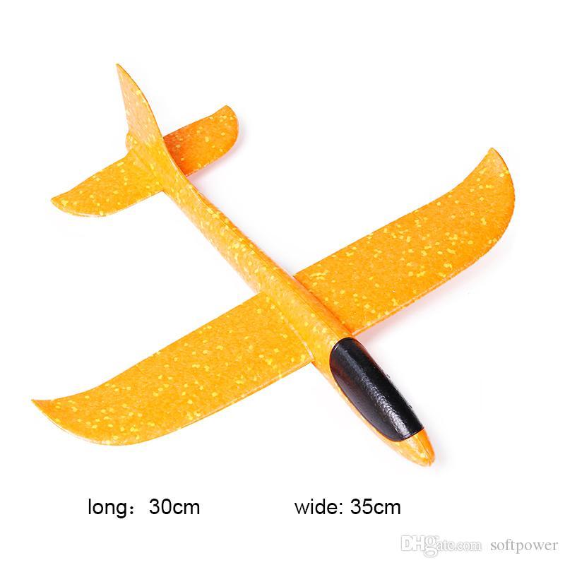 ce3456c608 Compre Lanzamiento De La Mano Lanzamiento De Glider Palne Inercia Espuma  Aviones Juguetes Modelo De Aviones Para Niños Juguetes Educativos Al Aire  Libre ...