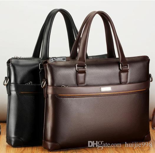 552809349d47 2019 New Men s Bag Tote Briefcase Diagonal Shoulder Computer Bag ...