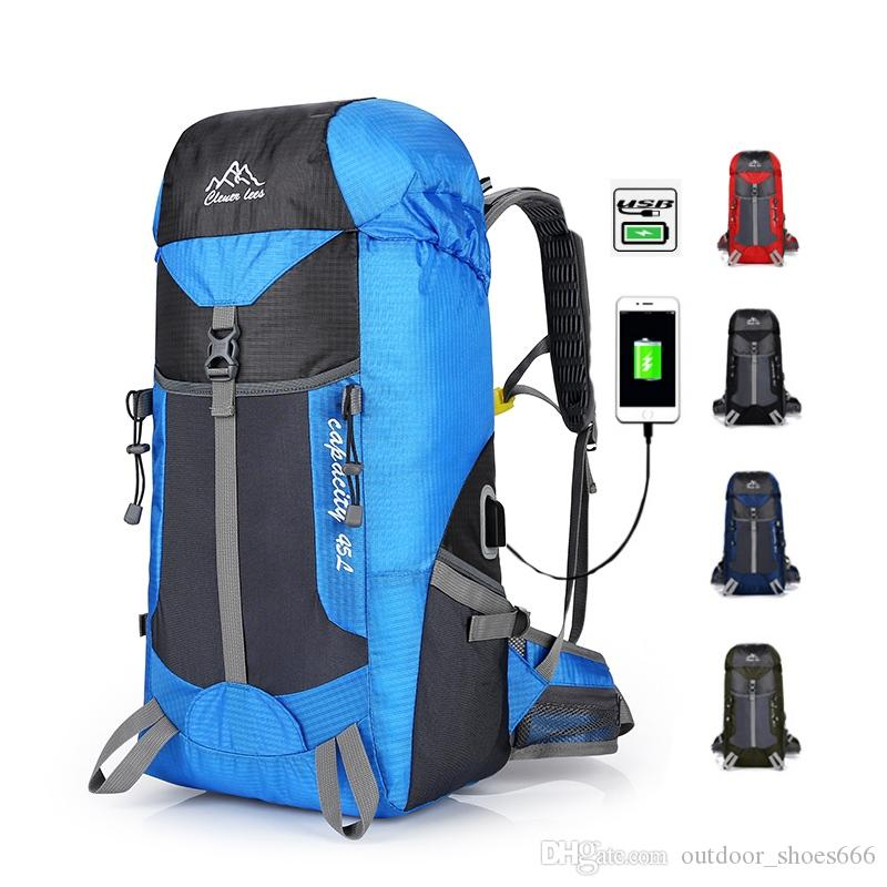 2019 45L High Capacity Waterproof Hiking Outdoor Bags Nylon Camping Travel  Backpack Ultralight Mountain Climbing USB Charging  108773 From  Outdoor shoes666 ee67648d242e1