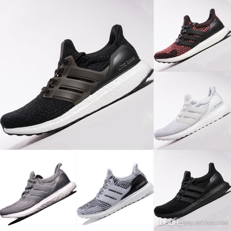 c75de301b59 2017 Ultra Boost 3.0 Triple Black Casual Shoes Men Women High Quality Ultra  Boost Hypebeast Primeknit Core Black White Athletic Size36-45 Ultraboost  Ultra ...