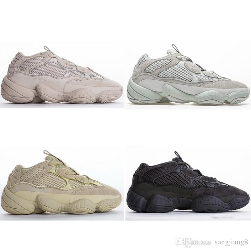 Adidas Yeezy 500 Desert Rat 500 Blush Desert Rat Super Moon Yellow 750 Hellgrau Gum Glow Laufschuhe Basketballschuhe Sneakers 750 Men Sports Casual Song