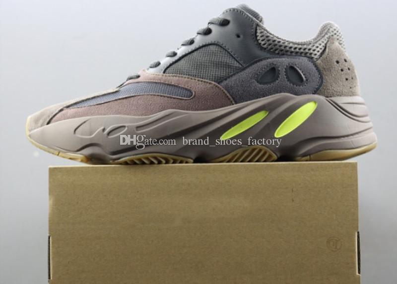 new style d888a 61133 Compre US4 US11.5 Kanye West 700 Mavue Zapato 700 Zapatillas De Deporte  Para Hombre Zapatos De Diseño Zapatillas De Deporte De Los Hombres  Zapatillas De ...