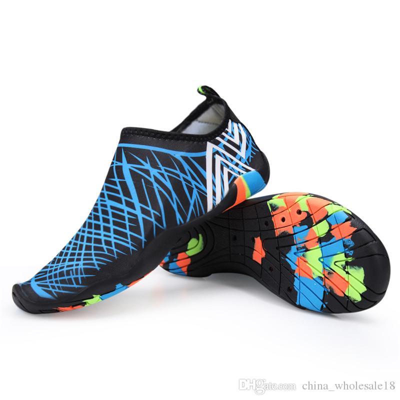 5e56da534da Compre Al Aire Libre Amantes De La Playa Verano Zapatos Al Aire Libre Mujer  Hombre Zapatos Senderismo Senderismo Aguas Arriba Senderismo Agua  Zapatillas De ...