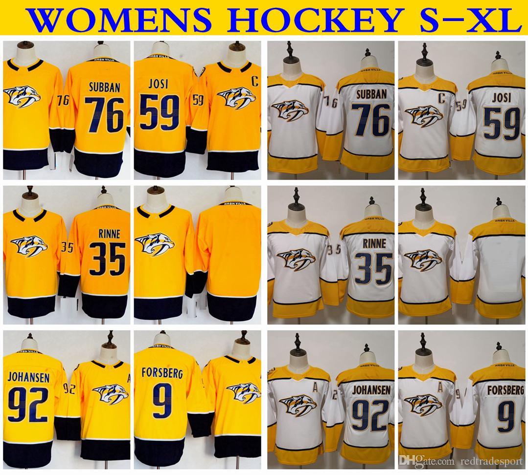 2019 Womens Nashville Predators 92 Ryan Johansen 35 Pekka Rinne 9 ... c812a2d2f