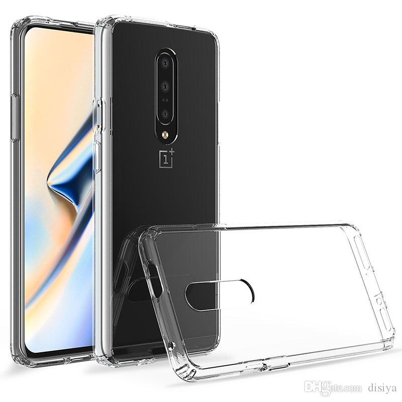 hot sale online da80c dc3f7 For oneplus 7 Case Matone Crystal Clear Shock Absorption Technology Bumper  Soft TPU Cover Case For Samsung S10 plus