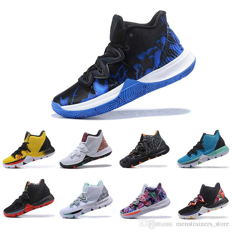 6d68e7e1 New Style Irving Limited 5 Men Basketball Shoes Black Magic for Kyrie 5s  Chaussures de basket ball Mens Trainers Designer Sneakers 7-12