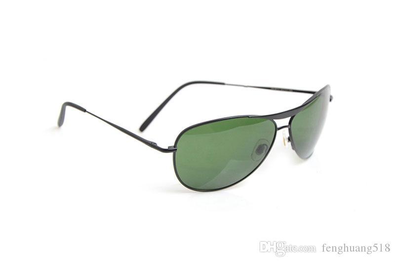 alta qualità 8015 Mans da sole occhiali da sole UV400 womens di vetro di marca occhiali da sole unisex degli occhiali da sole Nuovo occhiali classica
