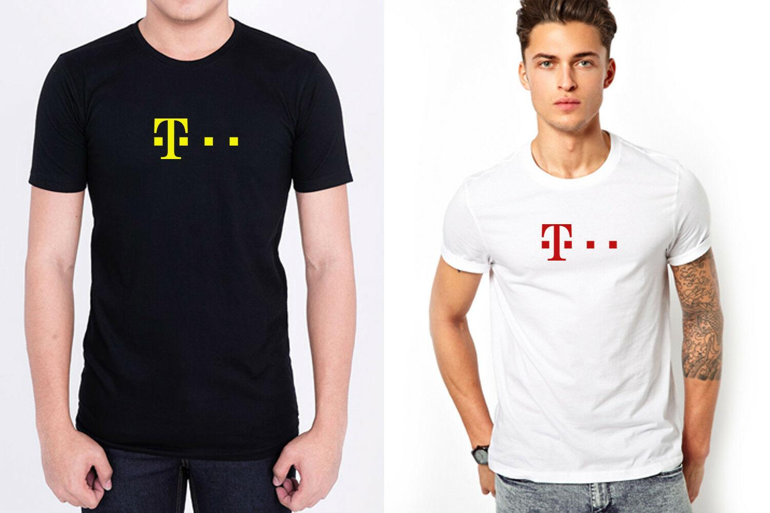 6c12ccf0c T MOBILE TELEKOM LOGO Men Black White T Shirt Personalized 100% CottonFunny  Unisex Casual Tshirt Daily Tee Shirts Coolest Shirt From Sg_outlet, ...