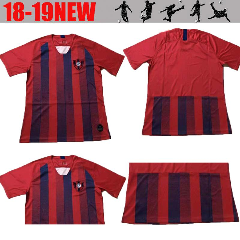 The Best Soccer Supplier 2018 2019 Cerro Porteno Red Soccer Jersey ... 4dbba7163