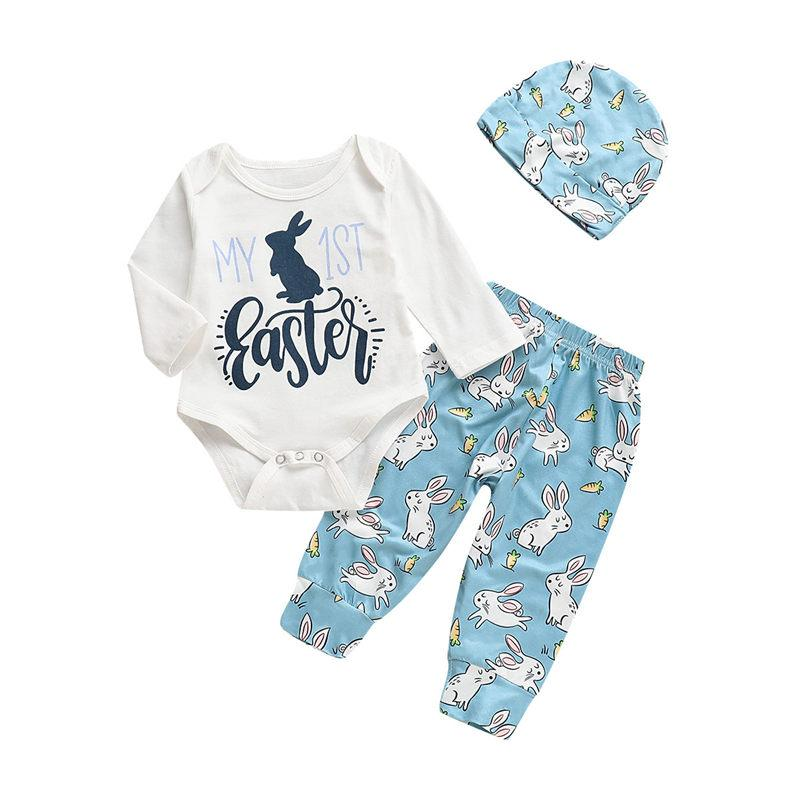 ba1ec481a 2019 2019 Kid My First Easter Outfit Newborn Baby Boy Girl Clothes ...